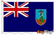MONTSERRAT ANYFLAG RANGE - VARIOUS SIZES